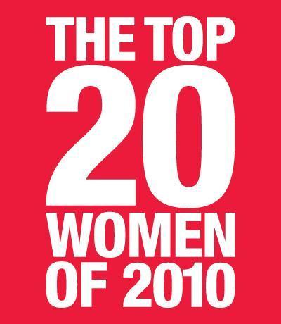 Erica Diamond named 'The Top 20 Women Of 2010'