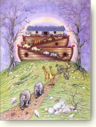 Wordless Wednesday: Noah's Ark