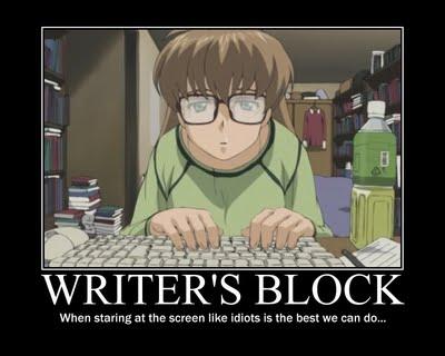 Wordless Wednesday: Writer's Block
