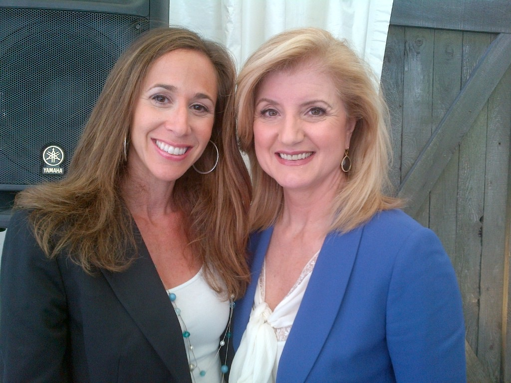 Wordless Wednesday: A Dream Meeting With Arianna Huffington