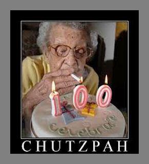 You Need 'Chutzpah' In Life!