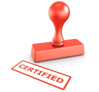 Certified and Shortlisted