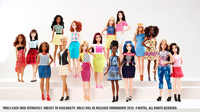 Barbie Has a New Body #TheDollEvolves