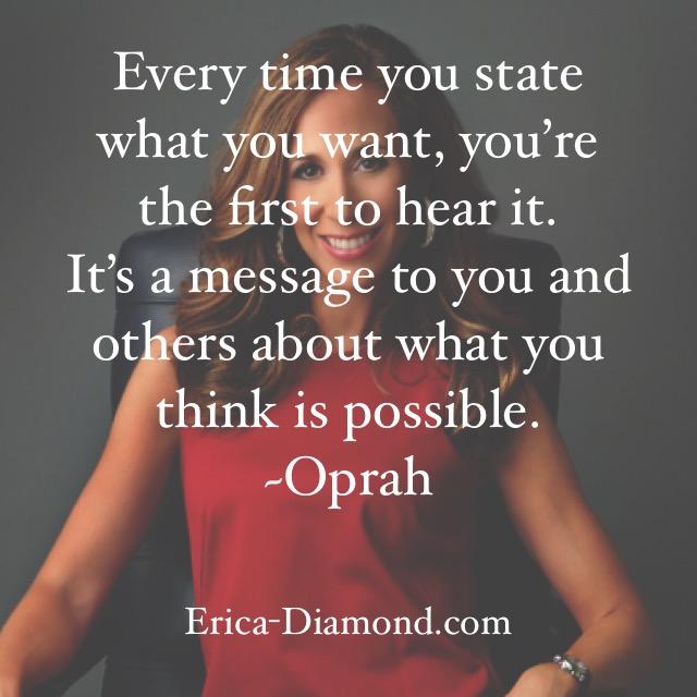 #WisdomWednesday from Oprah