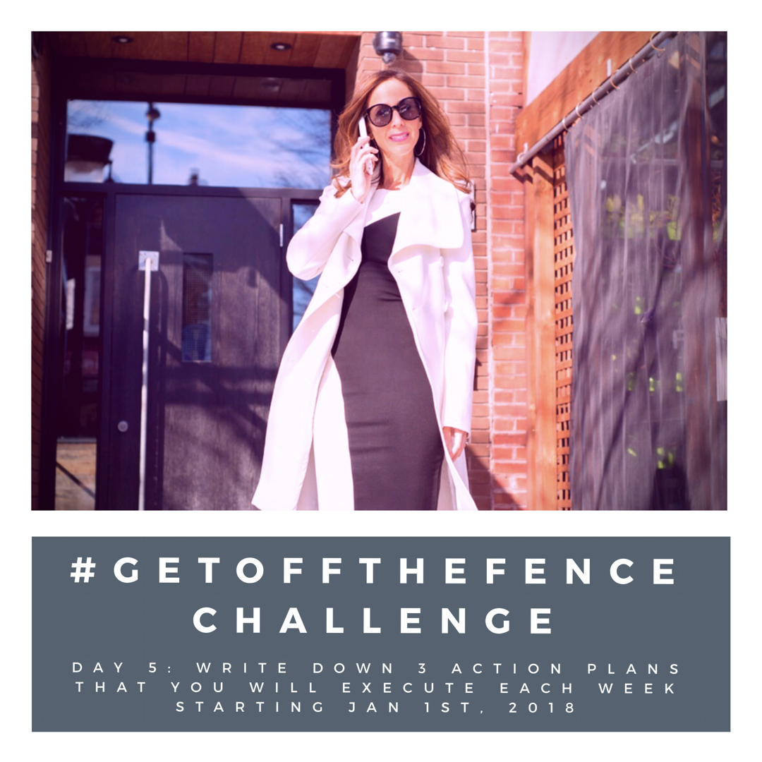 #GetOffTheFence Challenge Day 5