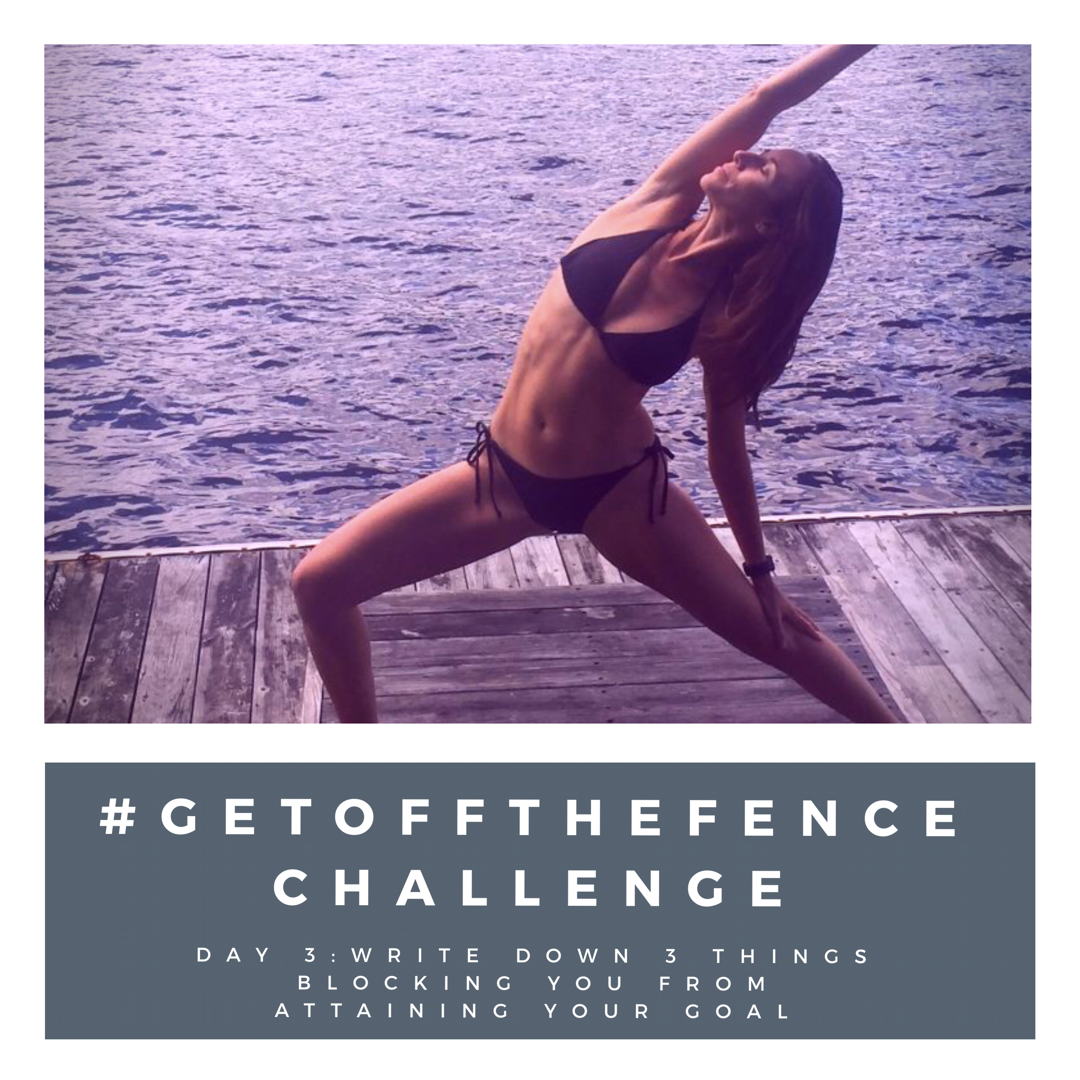 #GetOffTheFence Challenge Day 3