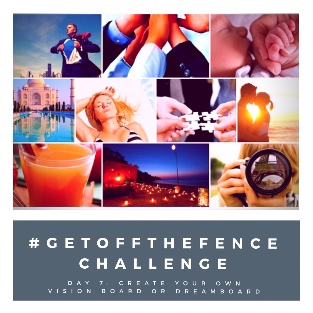 #GetOffTheFence Challenge Day 7